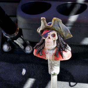 Pirate gear shift - Port A Beach Buggies golf cart rental