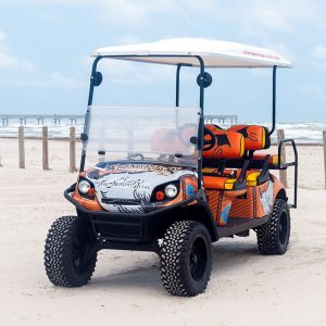 Stingrays Cart at the beach.